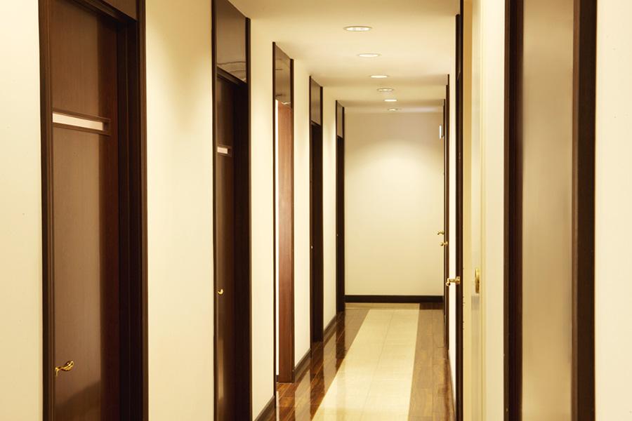モンテプラザ:廊下
